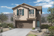 New KB Home built-to-order homes available at Copper Ranch Villas in Gilbert, AZ. Plan 1551 is one of many floor plans to choose from.