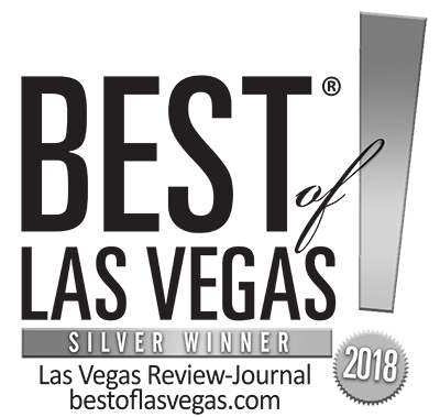 Best of Las Vegas - Silver Winner - 2018