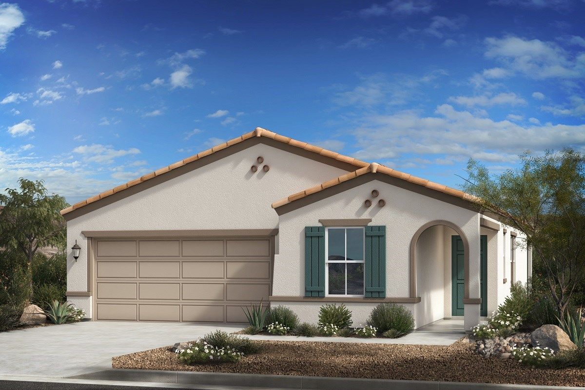 New Homes in Phoenix, AZ - 16th Street Enclave Plan 1547 Elevation A
