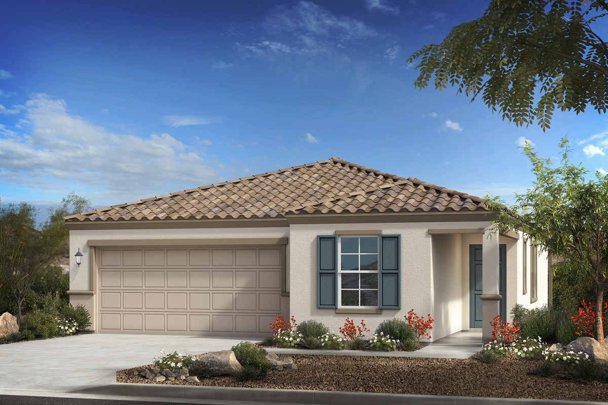 New Homes in Phoenix, AZ - 16th Street Enclave Plan 1547 Elevation B
