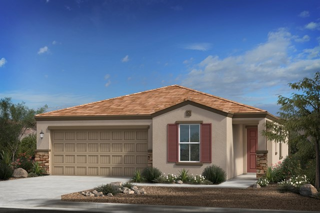 New Homes in Phoenix, AZ - Elevation C (with Stone)