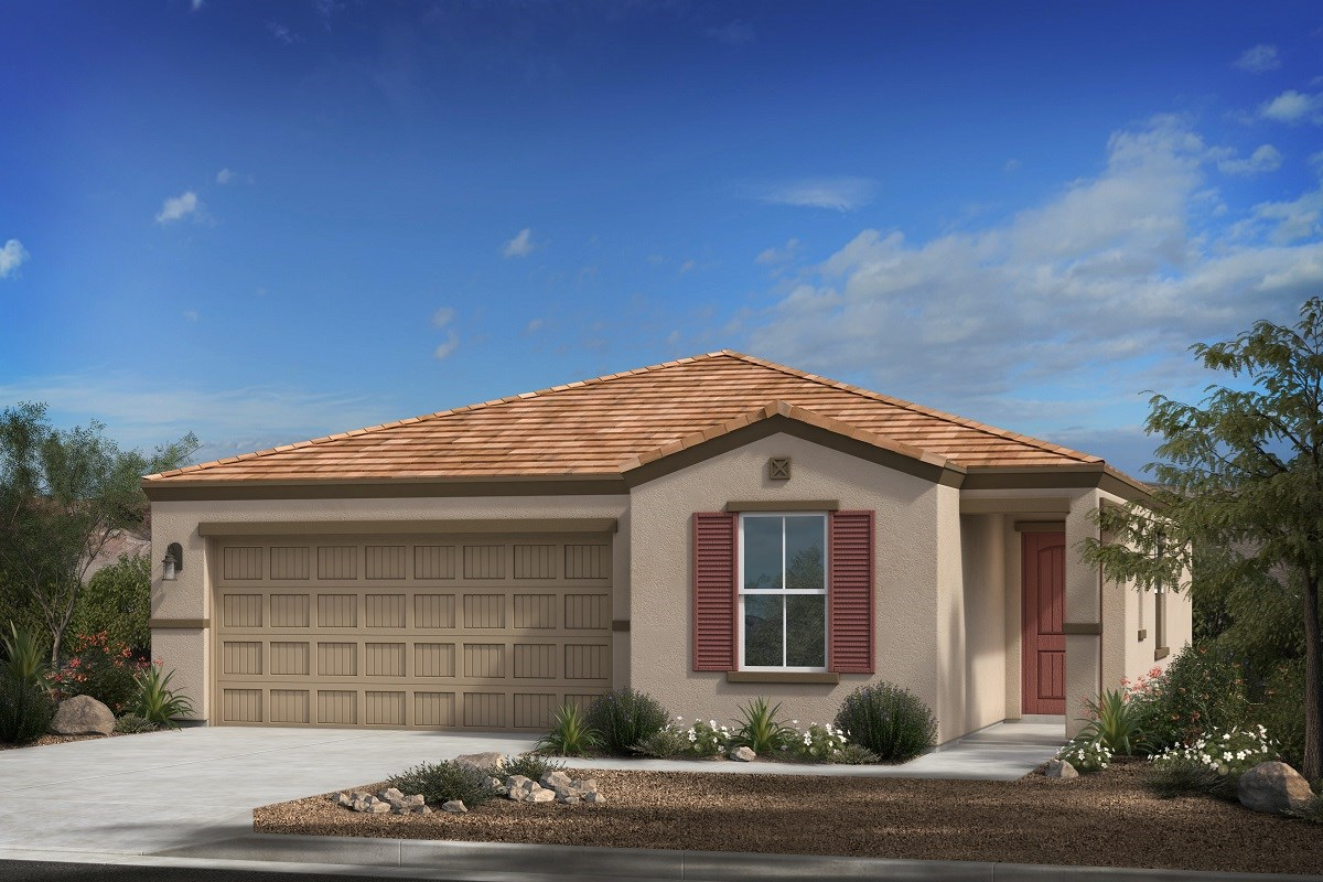 New Homes in Phoenix, AZ - 16th Street Enclave Plan 1547 Elevation C