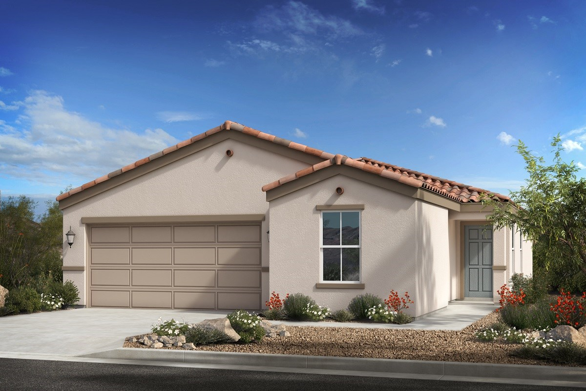 New Homes in Phoenix, AZ - 16th Street Enclave Plan 1439 Elevation A