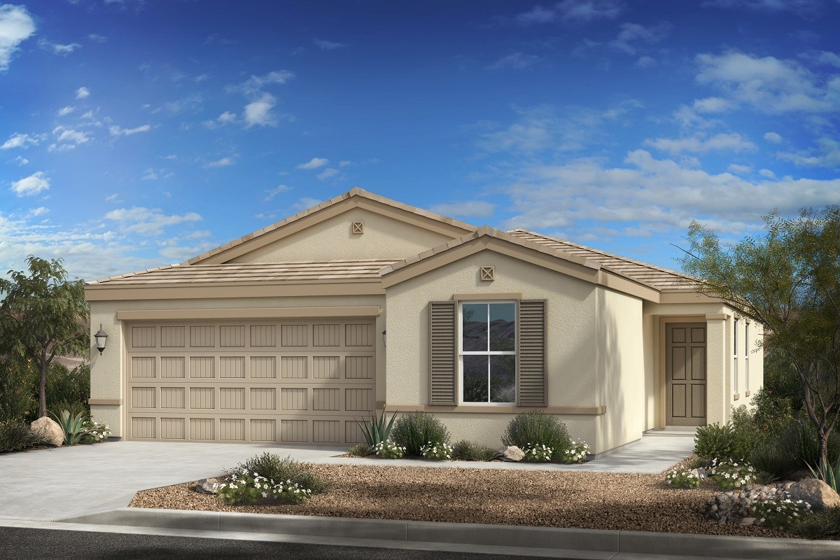 New Homes in Phoenix, AZ - 16th Street Enclave Plan 1439 Elevation C