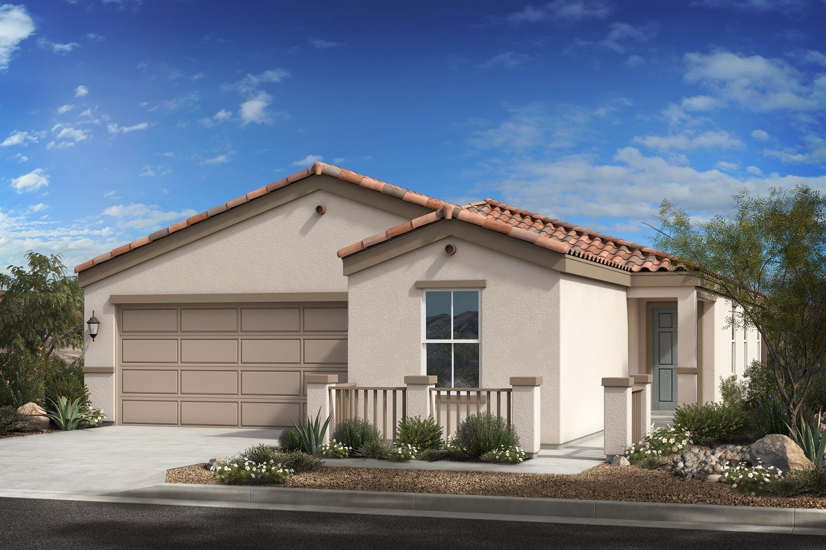 New Homes in Phoenix, AZ - 16th Street Enclave Plan 1849 Elevation A