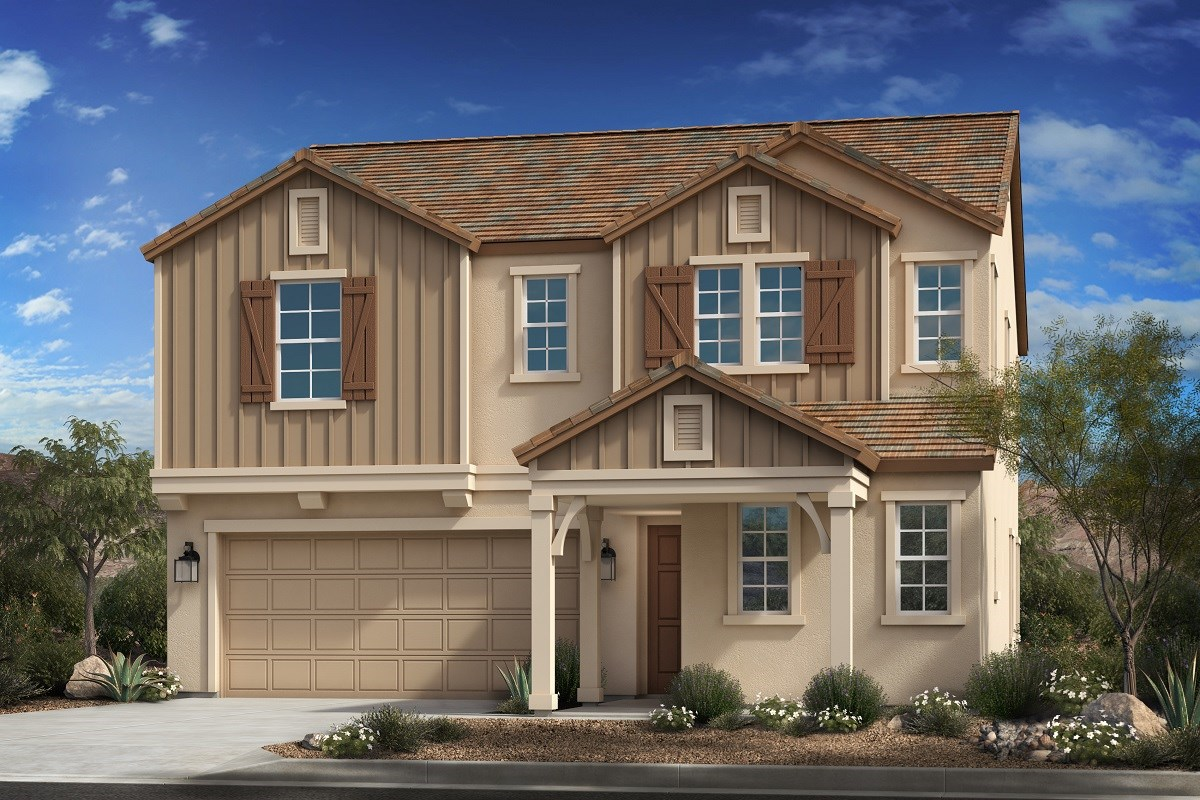 New Homes in Mesa, AZ - Allred Ranch  Plan 2372 Elevation C