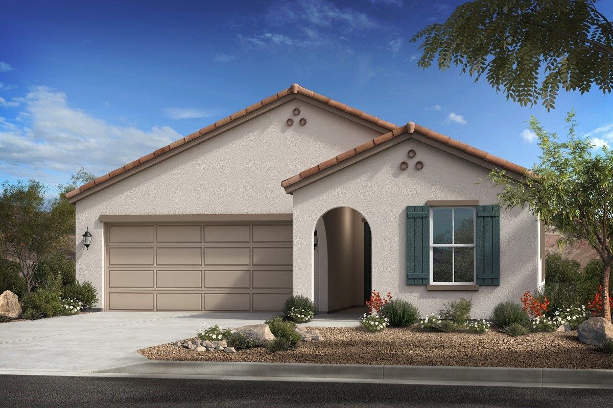 New Homes in Mesa, AZ - Allred Ranch  Plan 1838 Elevation A