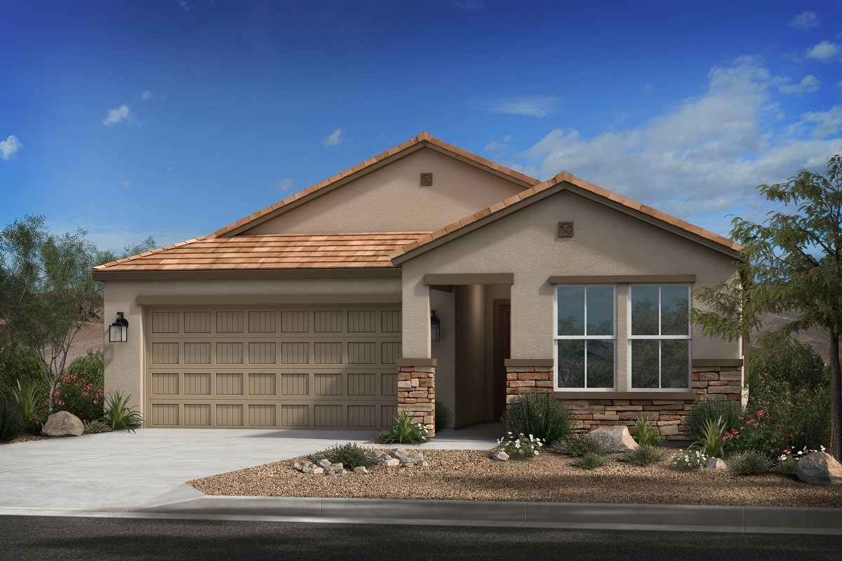 New Homes in Mesa, AZ - Allred Ranch  Plan 1838 Elevation B