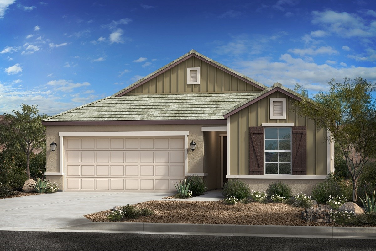 New Homes in Mesa, AZ - Allred Ranch  Plan 1838 Elevation C