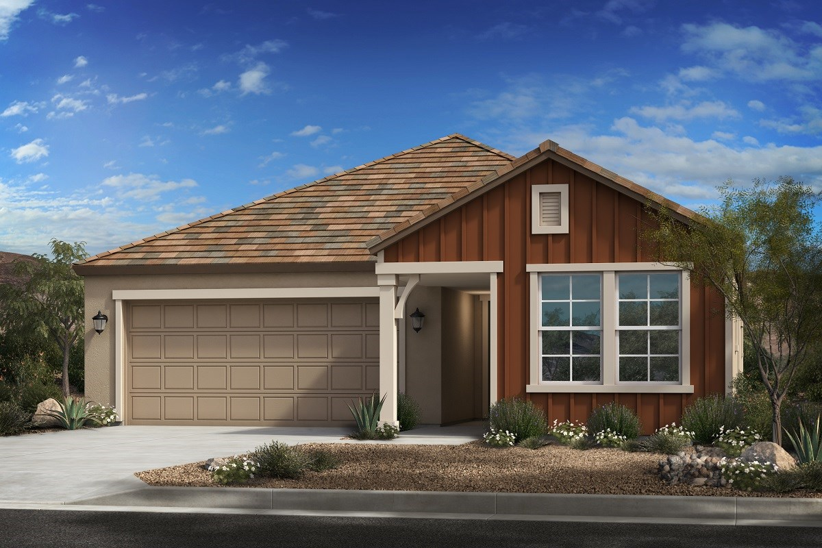 New Homes in Mesa, AZ - Allred Ranch  Plan 2053 Elevation C