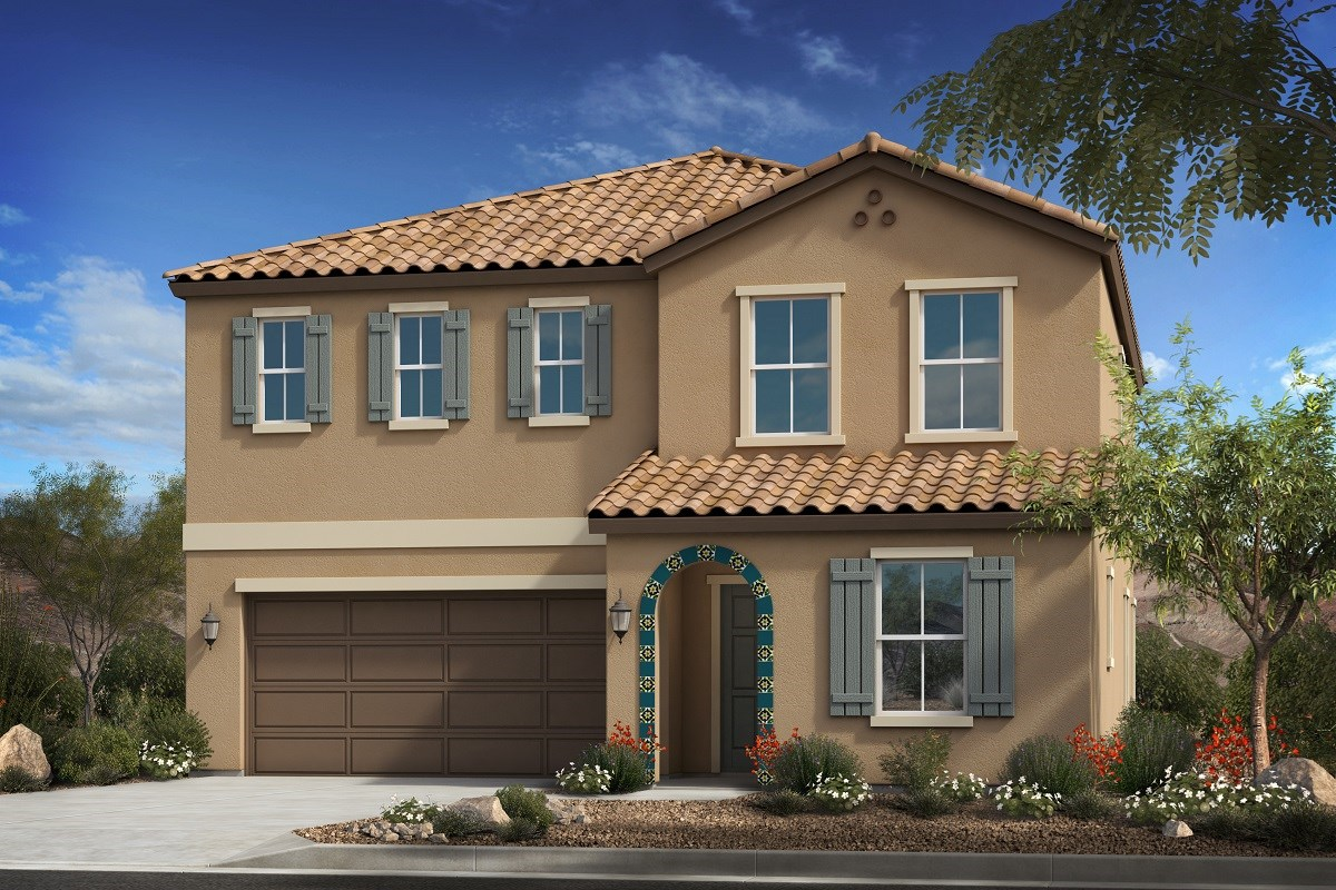 New Homes in Mesa, AZ - Allred Ranch  Plan 2372 Elevation A