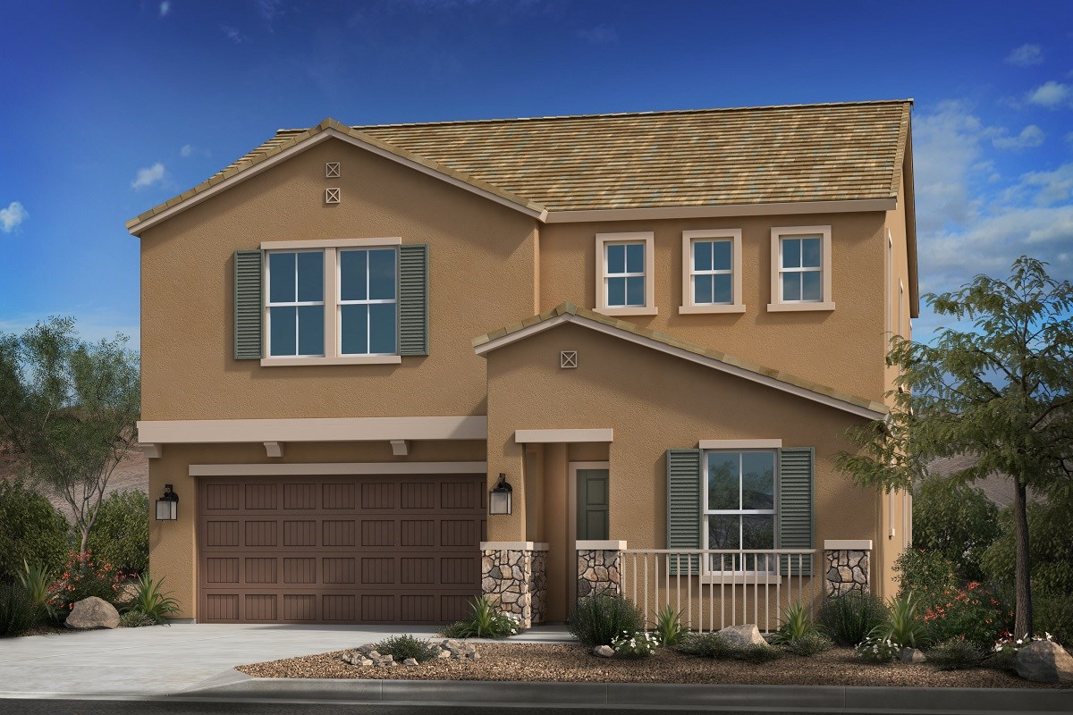 New Homes in Mesa, AZ - Allred Ranch  Plan 2372 Elevation B
