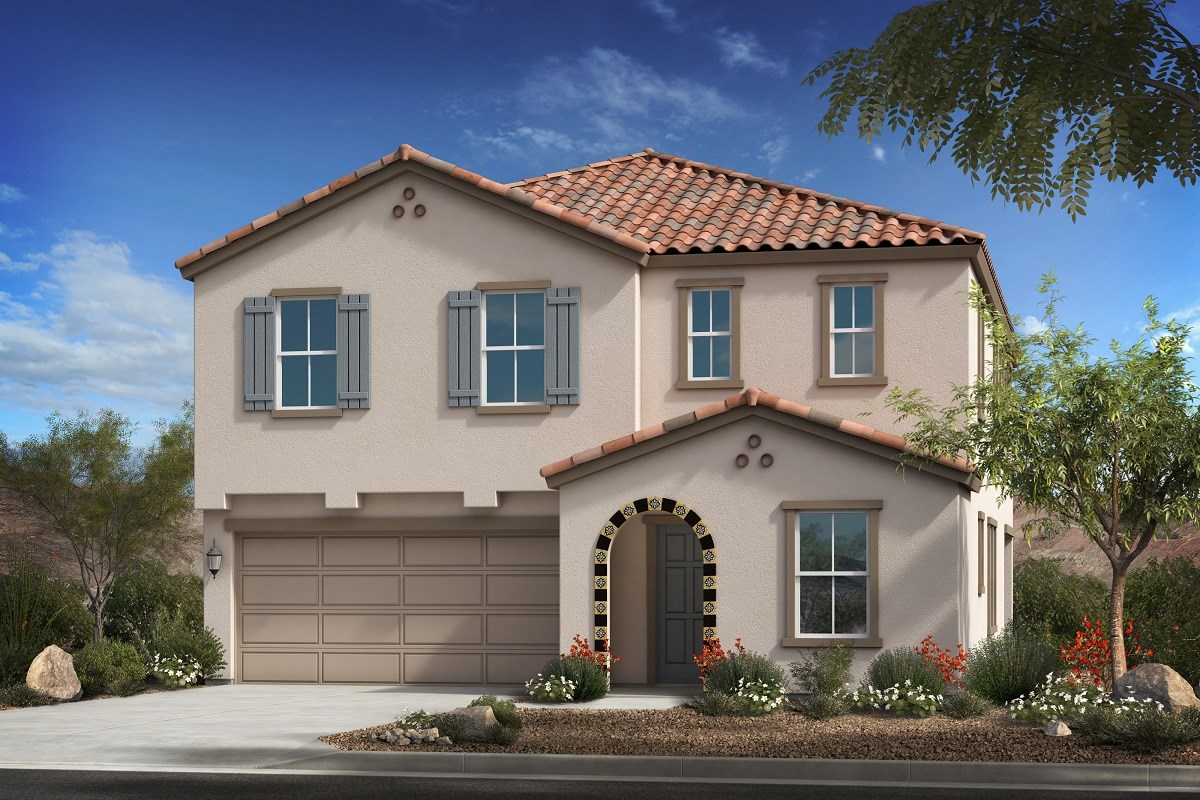 New Homes in Mesa, AZ - Allred Ranch  Plan 2812 Elevation A