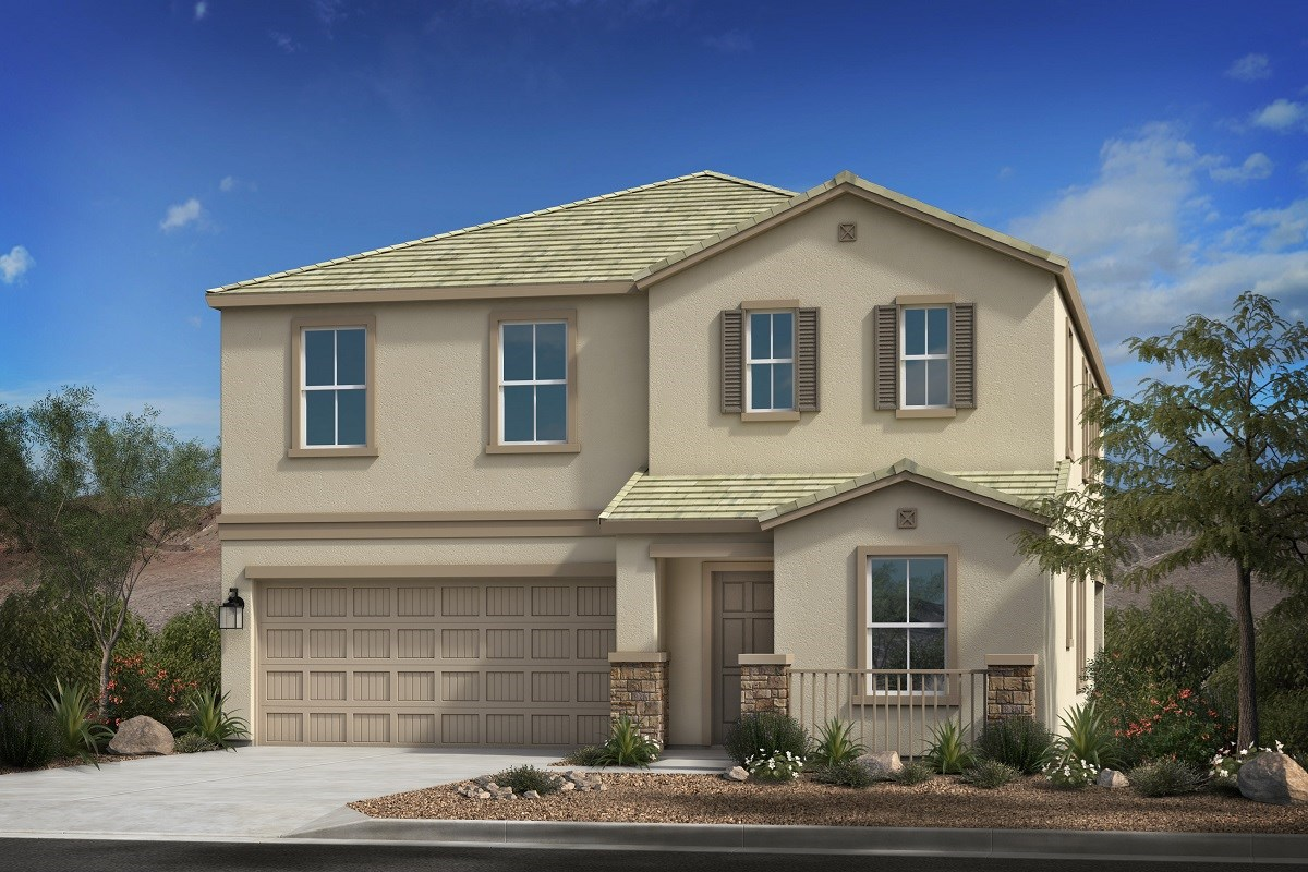 New Homes in Mesa, AZ - Allred Ranch  Plan 2812 Elevation B
