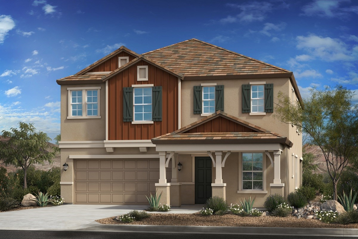 New Homes in Mesa, AZ - Allred Ranch  Plan 2812 Elevation C