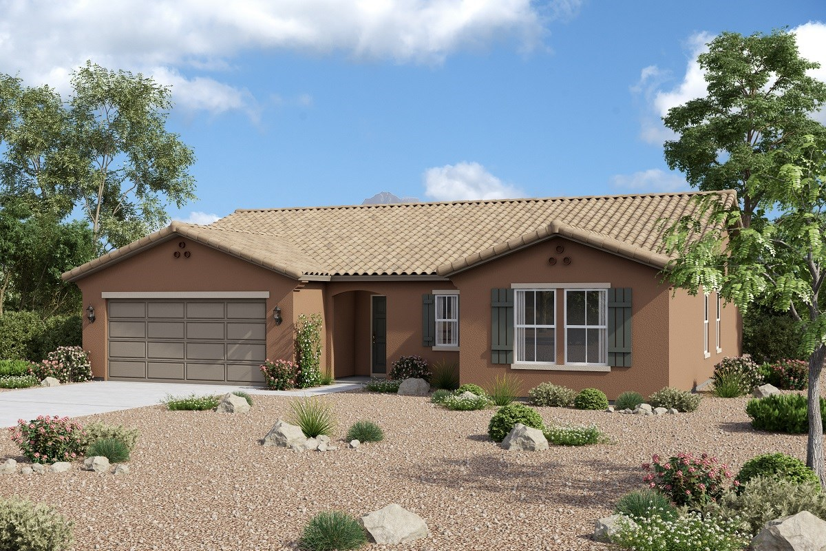 New Homes in Buckeye, AZ - Arroyo Seco Plan 1860 Elevation A