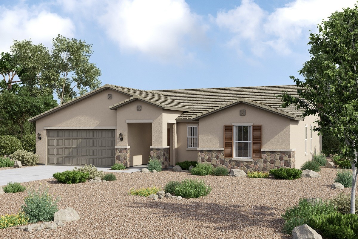 New Homes in Buckeye, AZ - Arroyo Seco Plan 1860 Elevation C