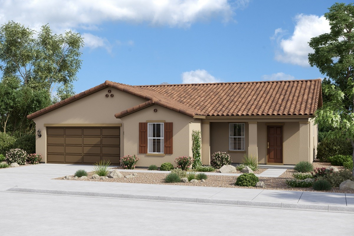 New Homes in Buckeye, AZ - Arroyo Seco Plan 1708 Elevation A