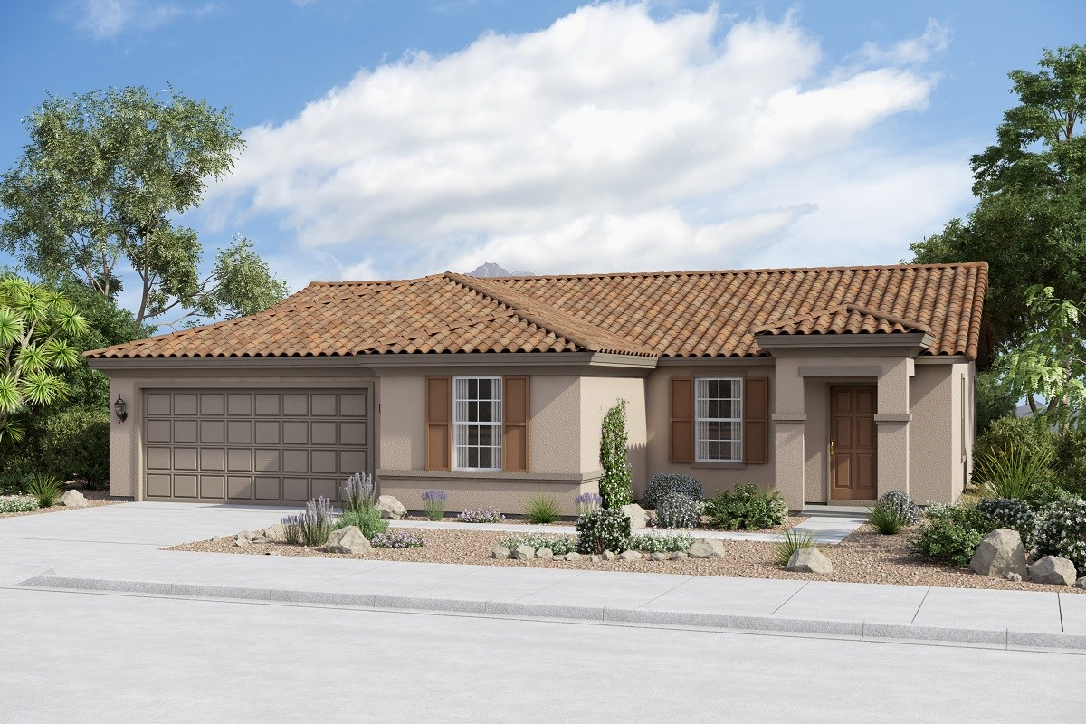 New Homes in Buckeye, AZ - Arroyo Seco Plan 1708 Elevation B