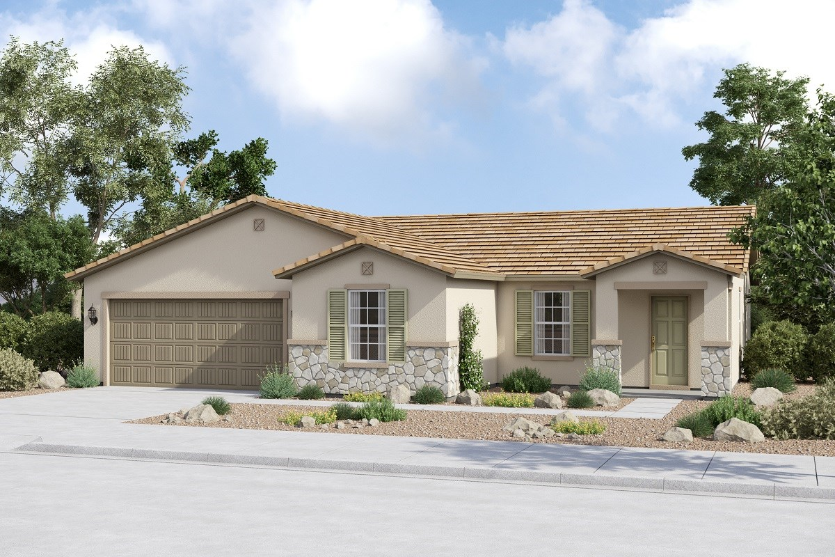 New Homes in Buckeye, AZ - Arroyo Seco Plan 1708 Elevation C