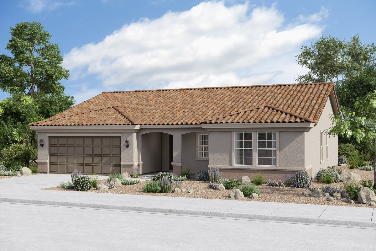 New Homes in Buckeye, AZ - Arroyo Seco Plan 1860 Elevation B