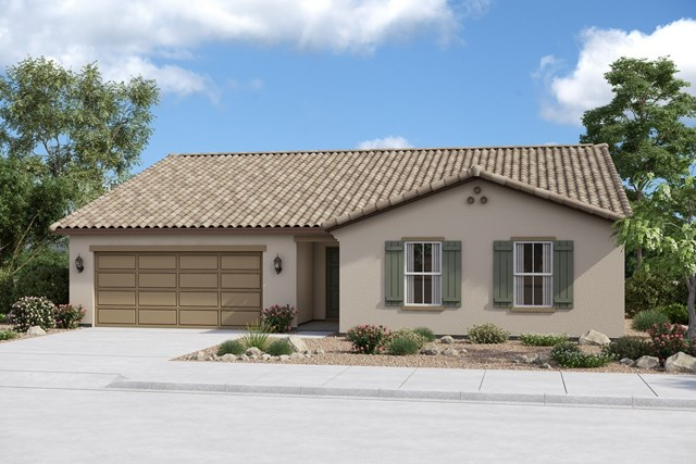 New Homes in Buckeye, AZ - Plan 2096 Elevation A