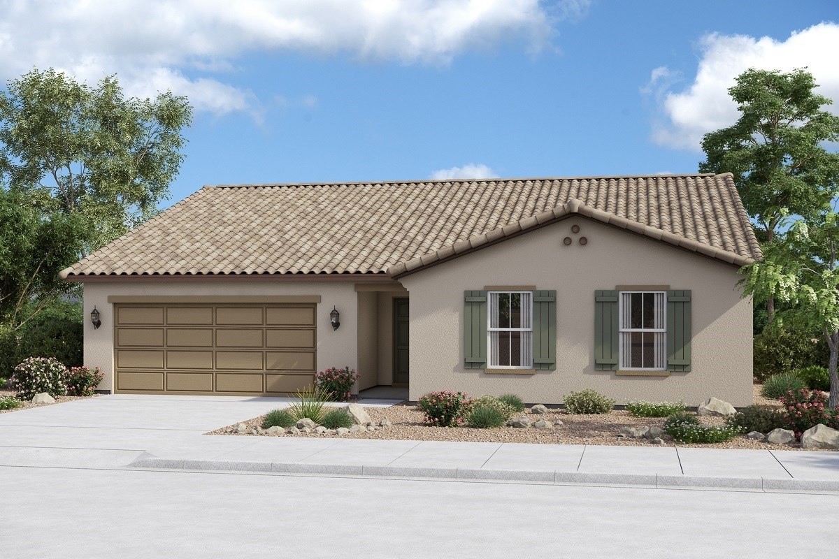 New Homes in Buckeye, AZ - Arroyo Seco Plan 2096 Elevation A
