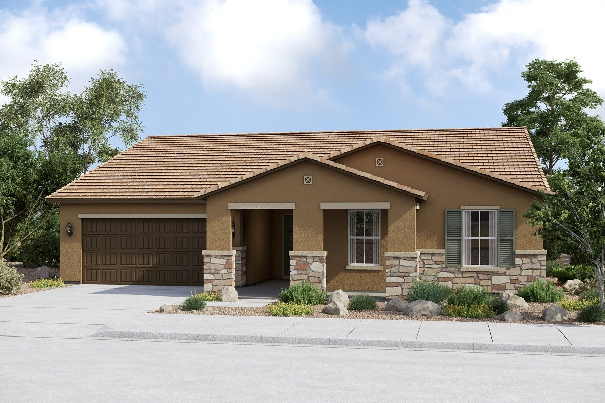 New Homes in Buckeye, AZ - Arroyo Seco Plan 2096 Elevation C