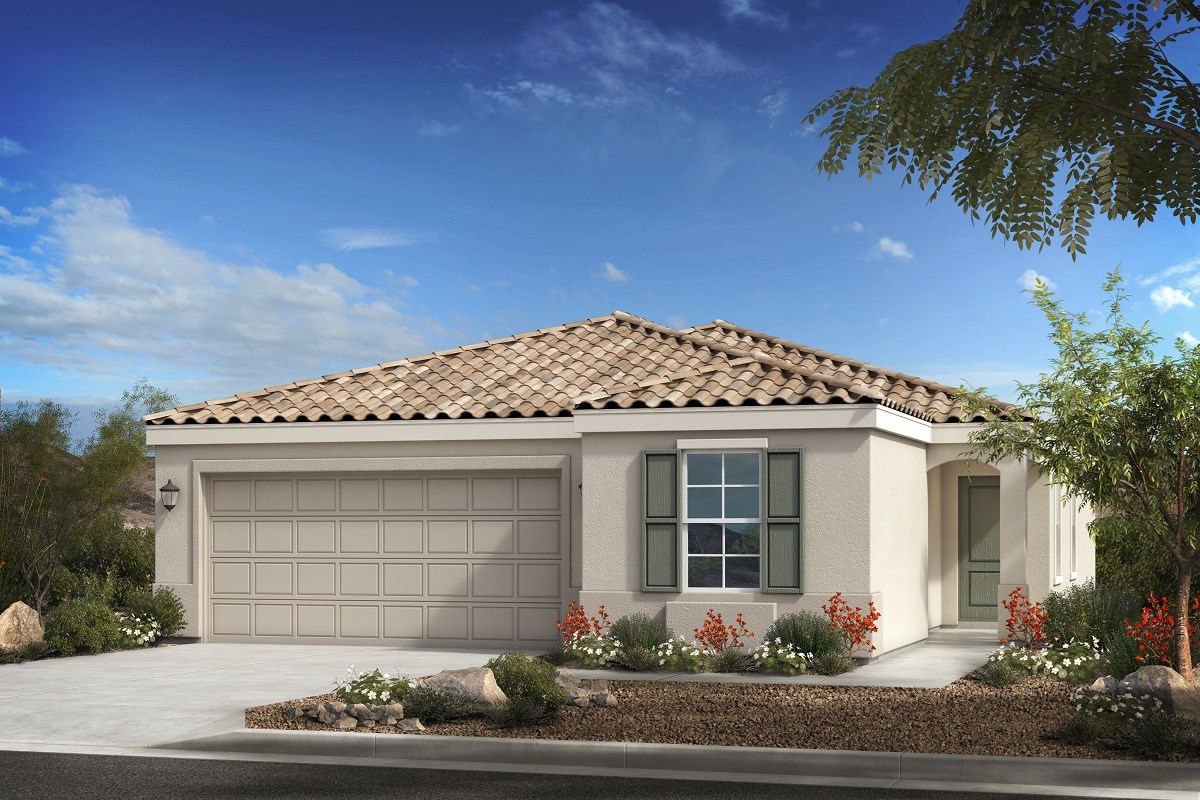 New Homes in Buckeye, AZ - Blue Horizon Traditions Plan 1439 Elevation B
