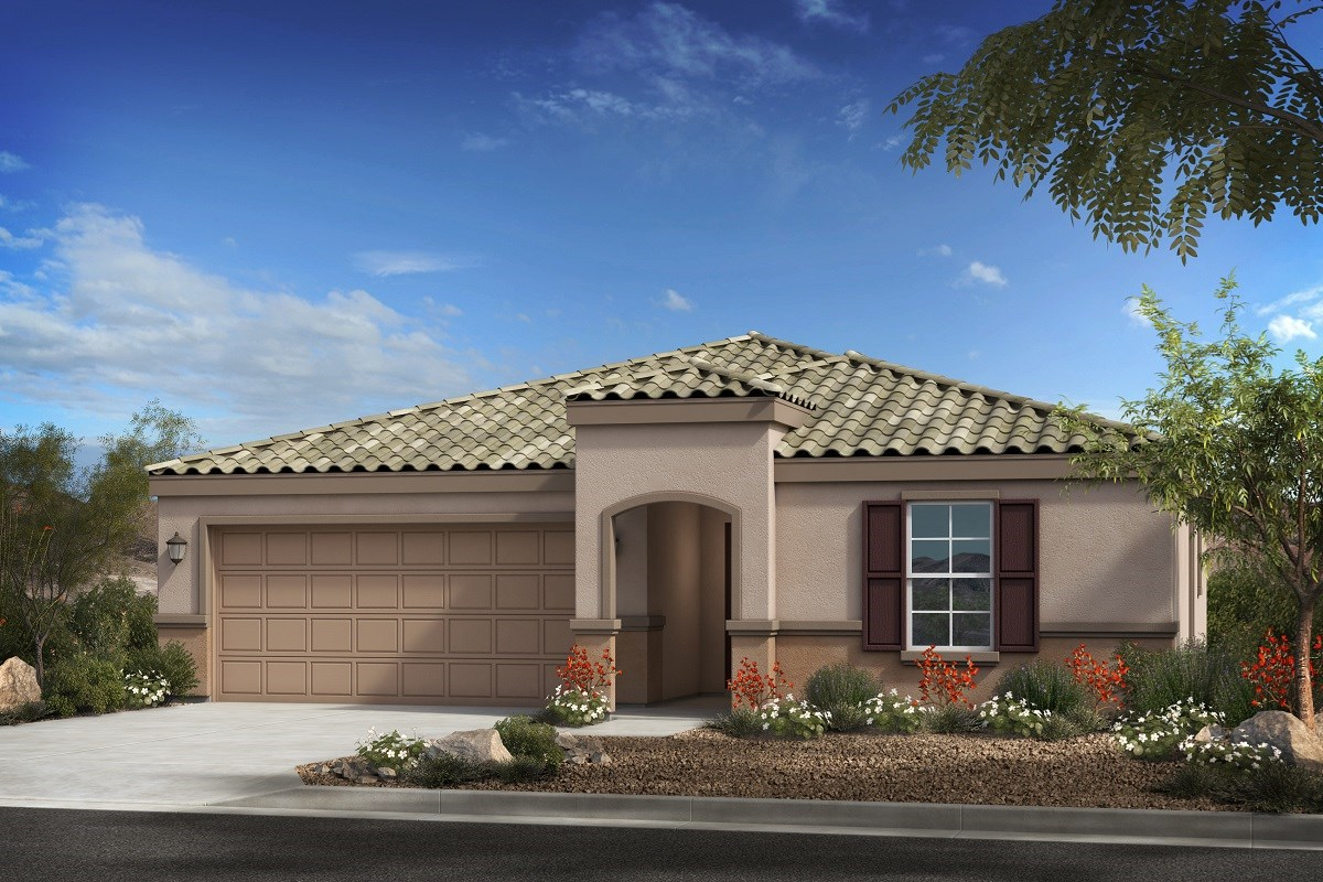 New Homes in Buckeye, AZ - Blue Horizon Enclaves Plan 1966 Elevation B