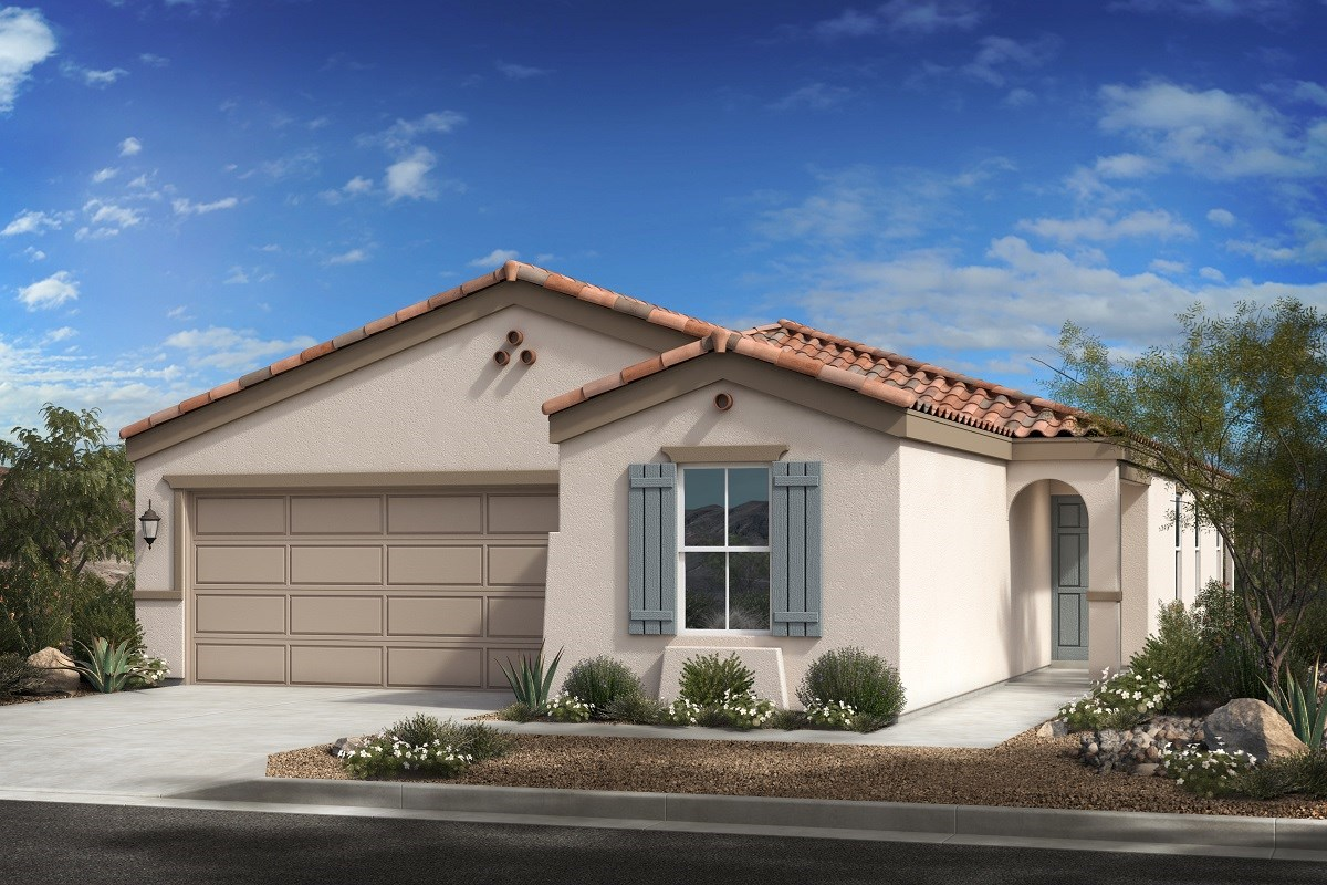 New Homes in Buckeye, AZ - Blue Horizon Traditions Plan 1849 Elevation A