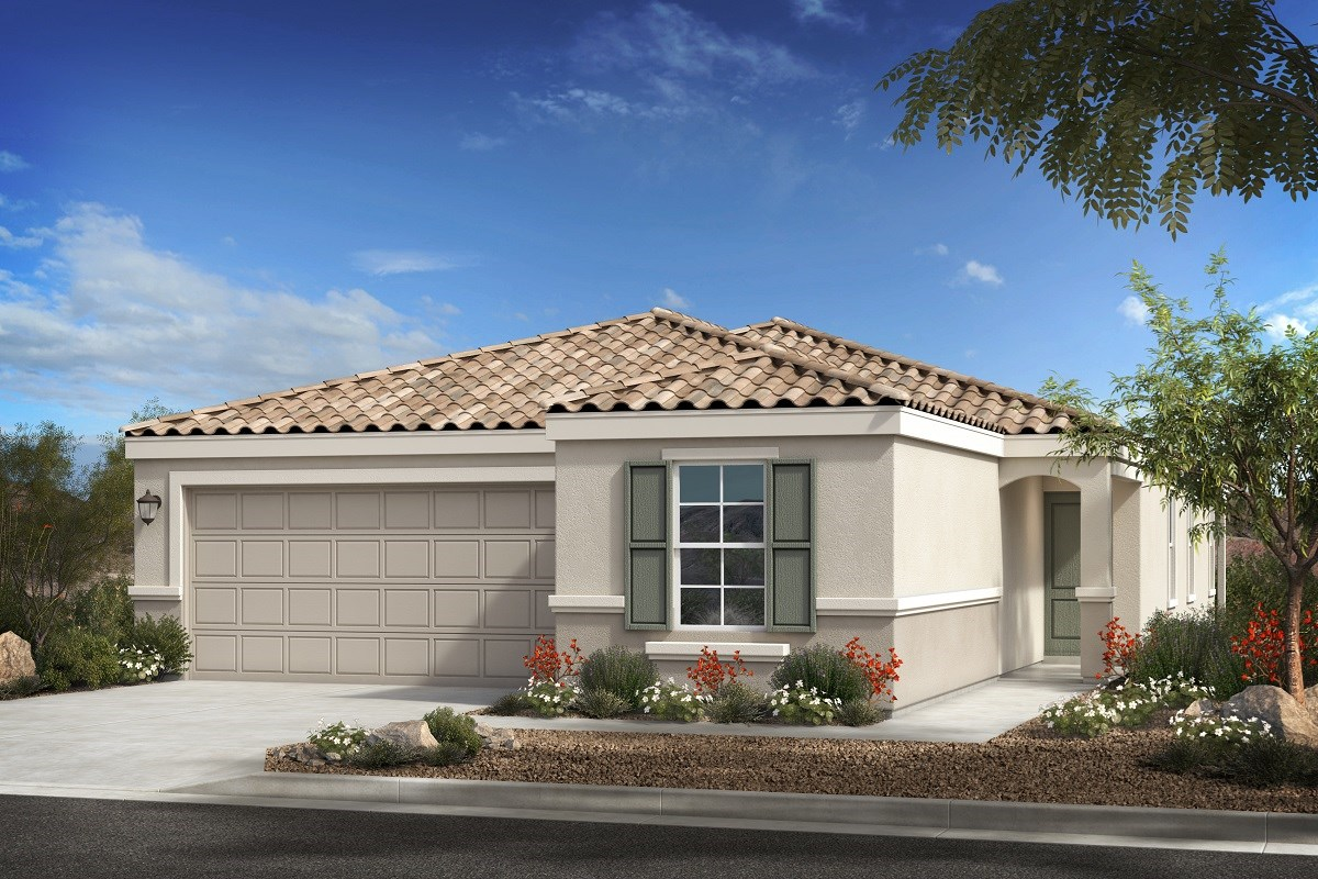 New Homes in Buckeye, AZ - Blue Horizon Traditions Plan 1849 Elevation B