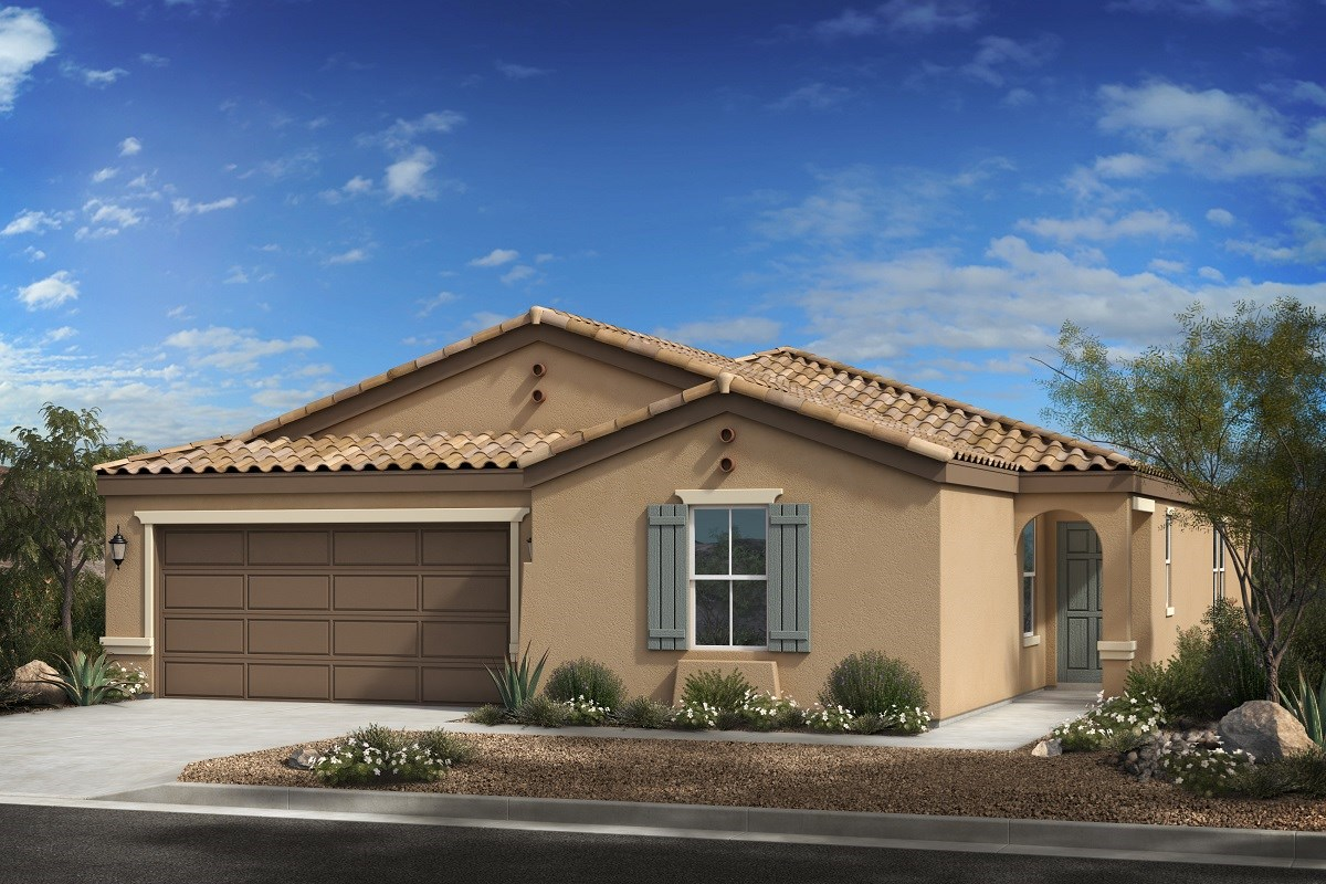 New Homes in Buckeye, AZ - Blue Horizon Enclaves Plan 2121 Elevation A