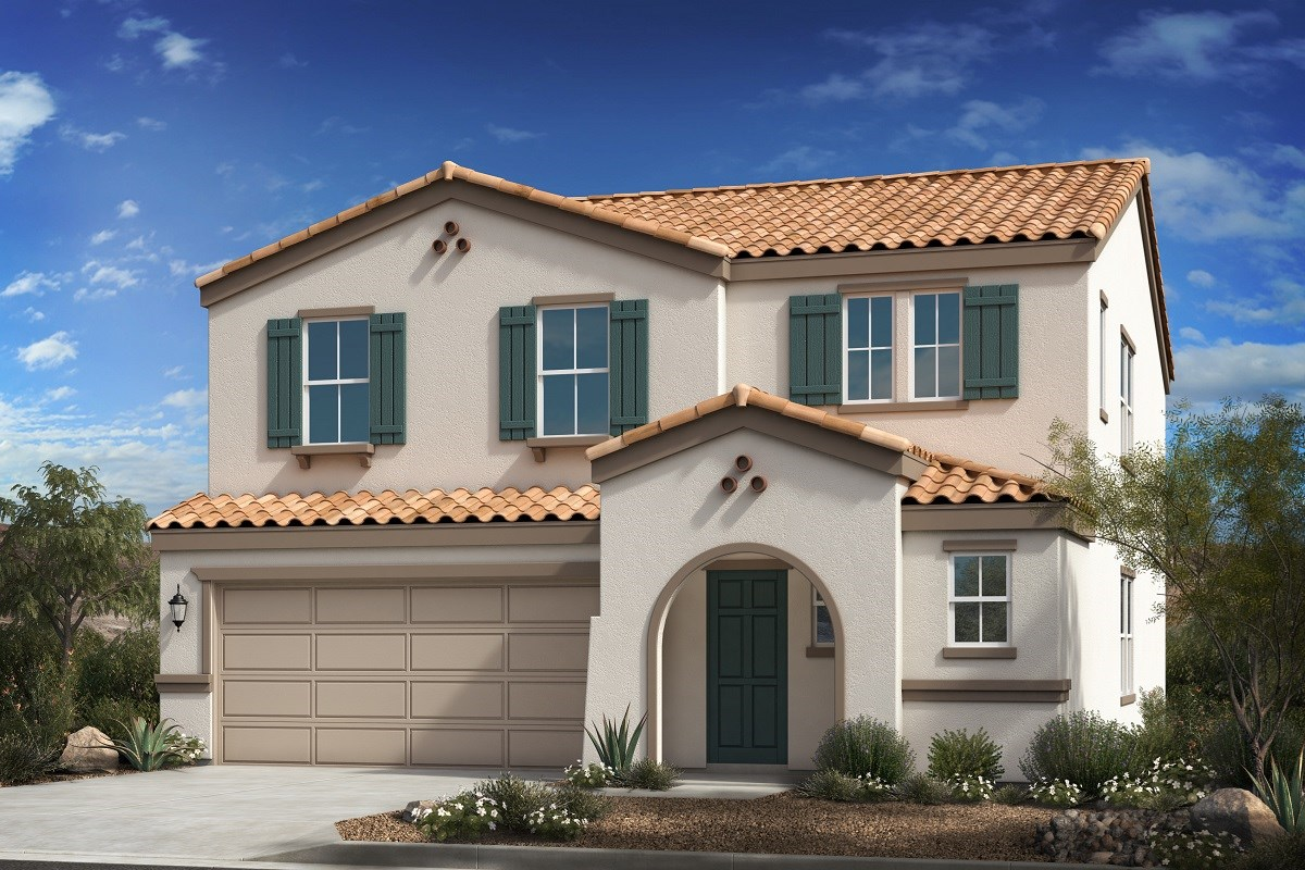 New Homes in Buckeye, AZ - Blue Horizon Traditions Plan 2541 Elevation A