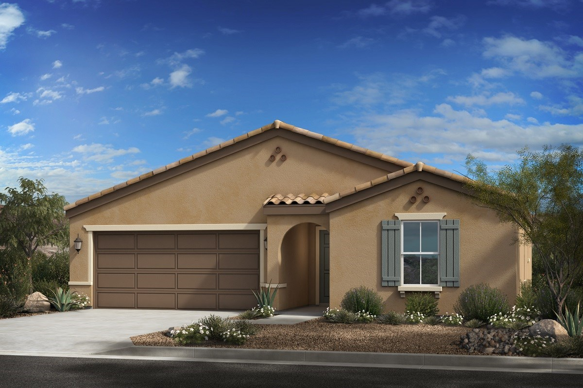 New Homes in Buckeye, AZ - Blue Horizons Enclaves Plan 1612 Elevation A