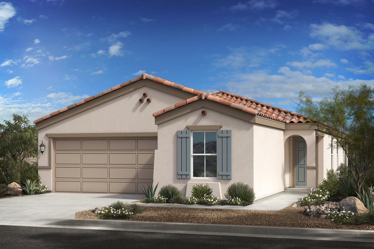 New Homes in Buckeye, AZ - Blue Horizons Enclaves Plan 1849 Elevation A