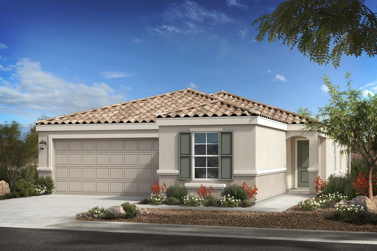 New Homes in Buckeye, AZ - Blue Horizons Enclaves Plan 1849 Elevation B