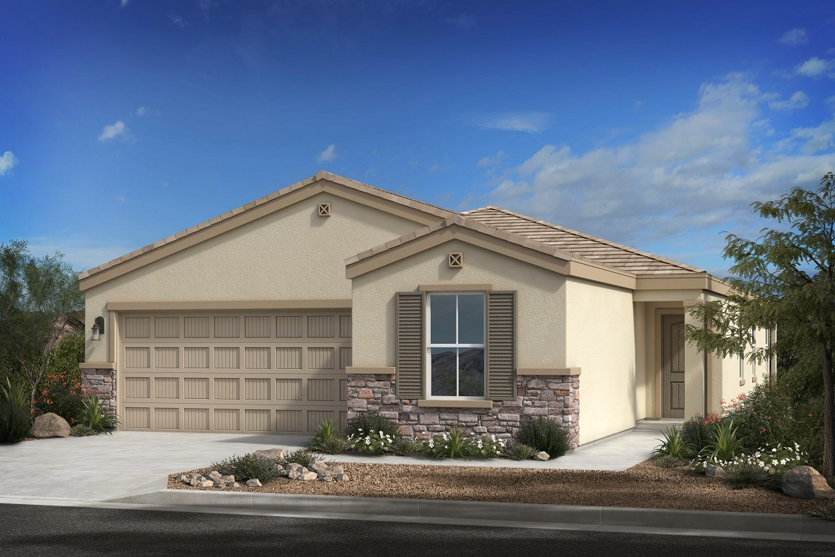 New Homes in Buckeye, AZ - Blue Horizons Enclaves Plan 1849 Elevation C