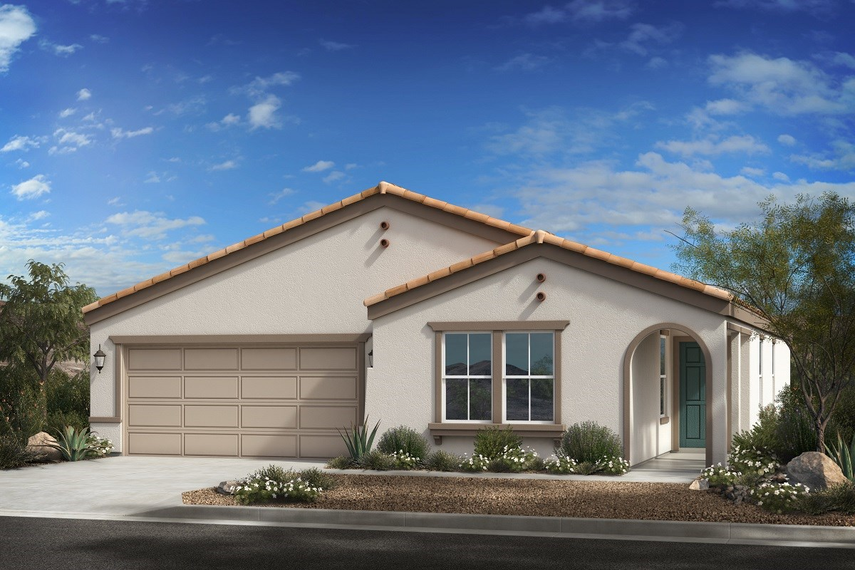 New Homes in Buckeye, AZ - Blue Horizons Enclaves Plan 1966 Elevation A