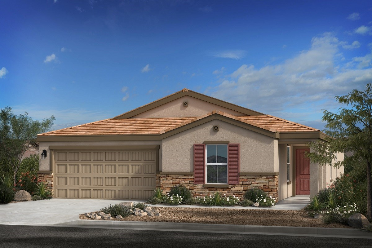 New Homes in Buckeye, AZ - Blue Horizons Enclaves Plan 1966 Elevation C