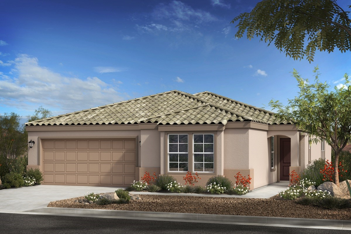 New Homes in Buckeye, AZ - Blue Horizons Enclaves Plan 2121 Elevation B