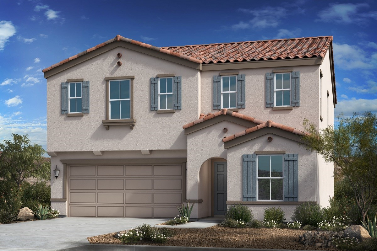 New Homes in Buckeye, AZ - Blue Horizons Traditions Plan 2358 Elevation A