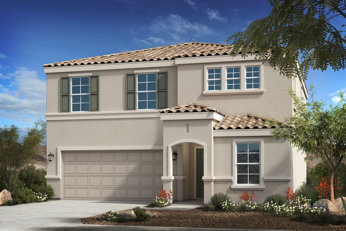 New Homes in Buckeye, AZ - Blue Horizons Traditions Plan 2358 Elevation B