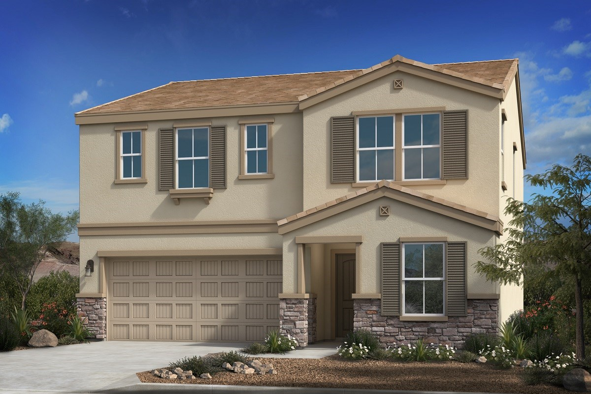 New Homes in Buckeye, AZ - Blue Horizons Traditions Plan 2358 Elevation C