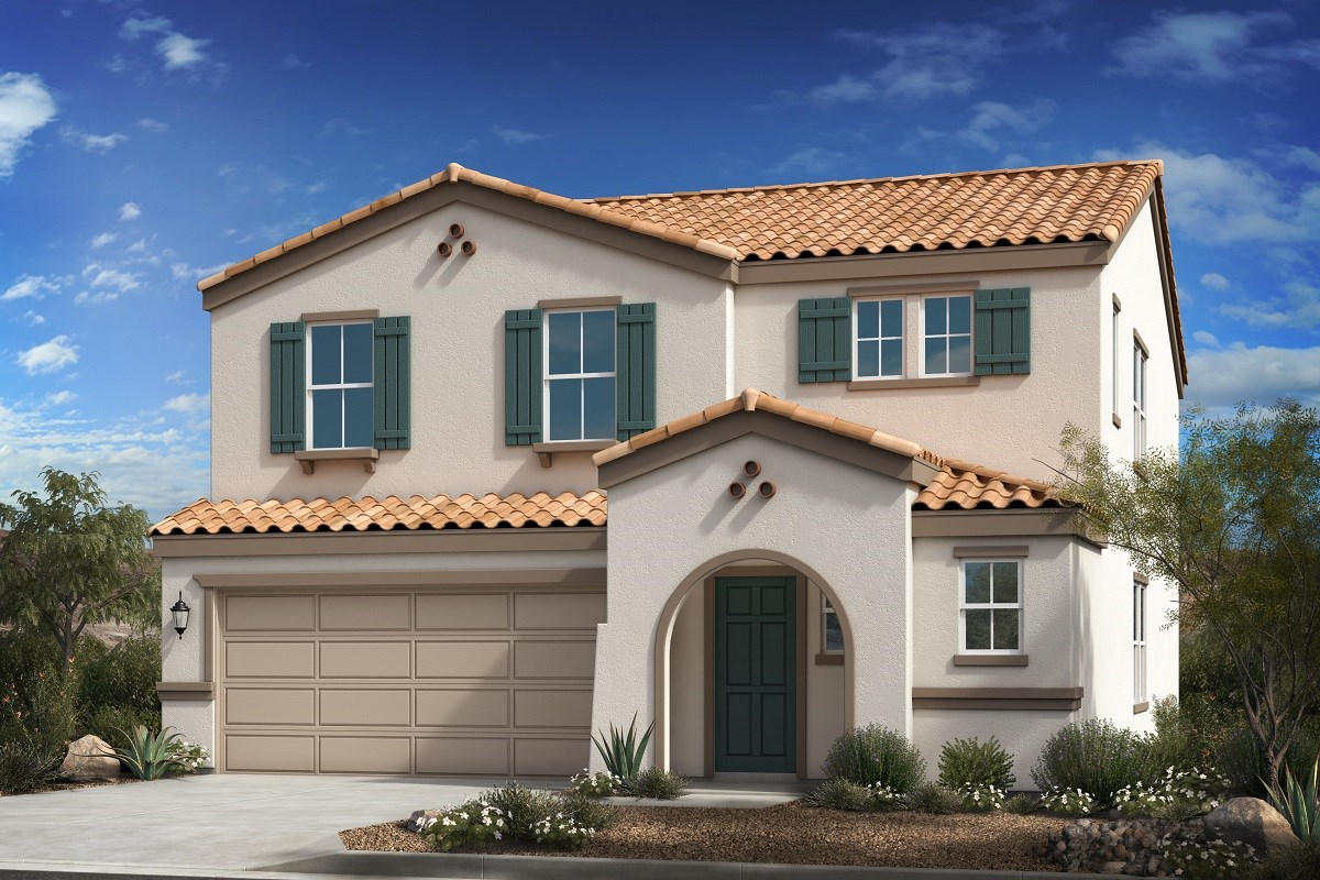 New Homes in Buckeye, AZ - Blue Horizons Traditions Plan 2541 Elevation A