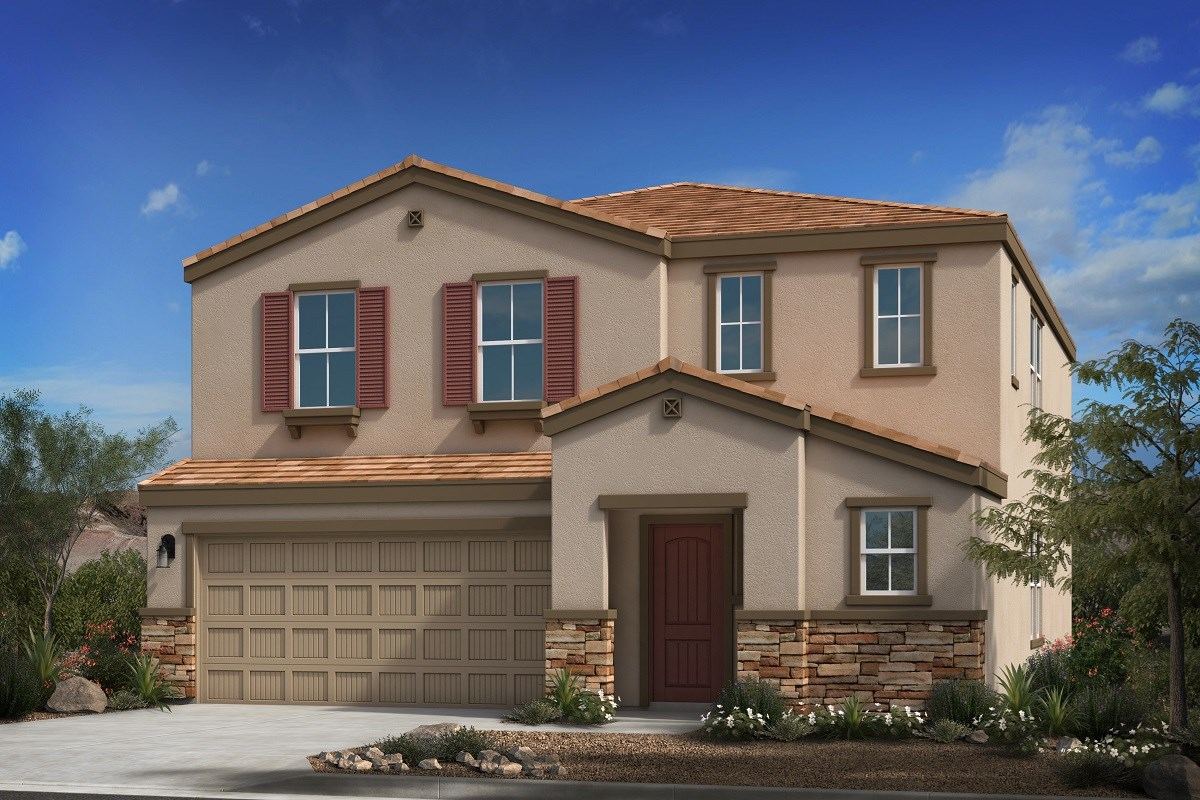 New Homes in Buckeye, AZ - Blue Horizons Traditions Plan 2541 Elevation C