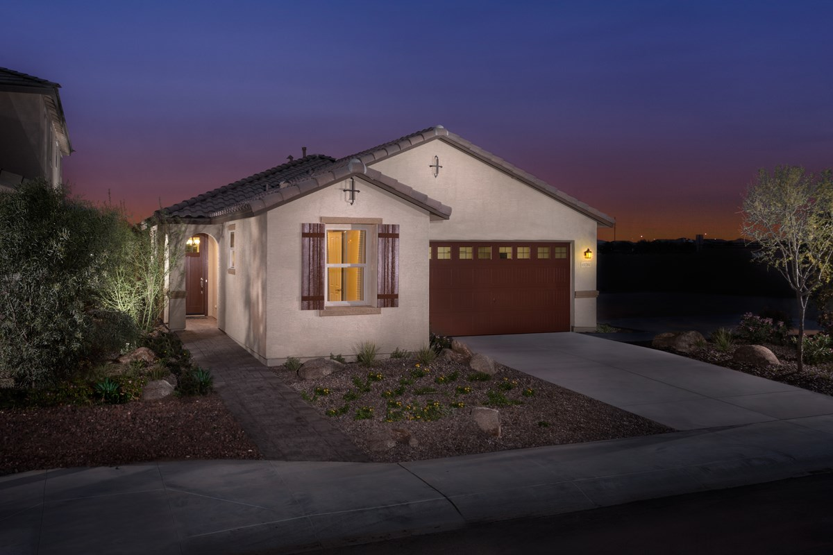 New Homes in Maricopa, AZ - Cliffrose at Desert Passage 1849 Exterior