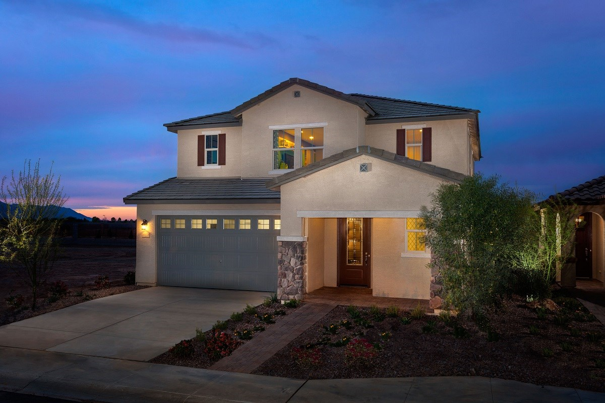 New Homes in Maricopa, AZ - Cliffrose at Desert Passage Plan 2632 Exterior