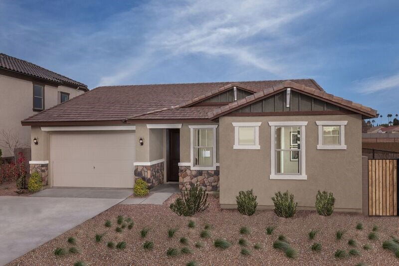 New Homes in Gilbert, AZ - Cobblestone Villas Plan 1711