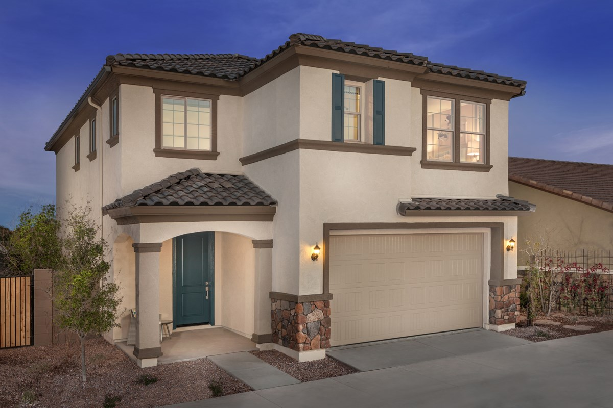 New Homes in Gilbert, AZ - Cobblestone Villas Plan 1916